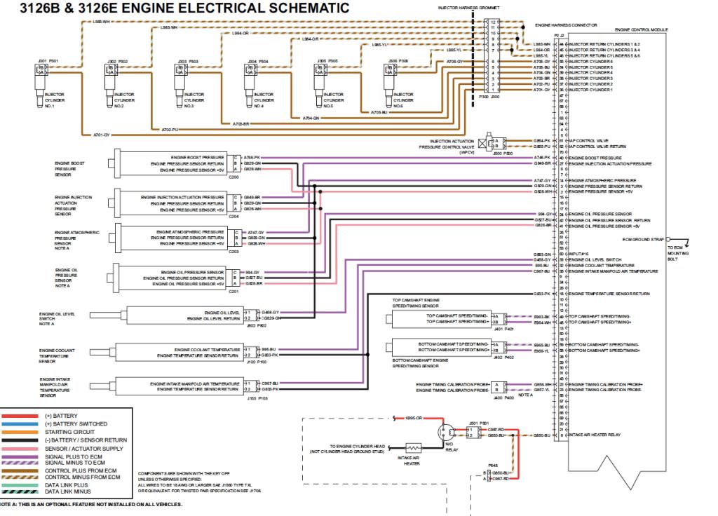 Cat 3126 Ecm Wiring Diagrams Caterpillar Ecm Catecm In 2021 Diagram Wire Tough