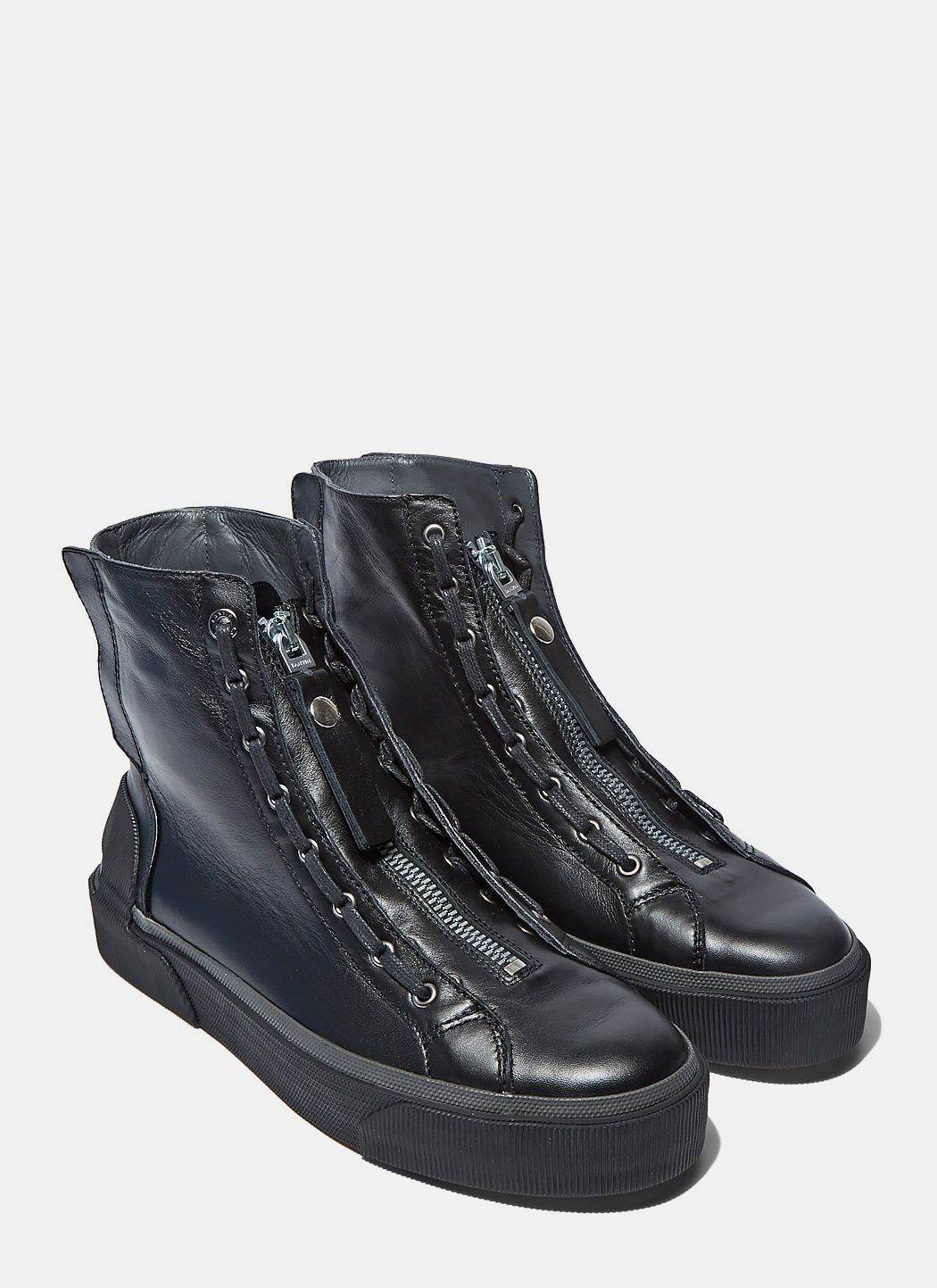 wide range of online Lanvin Lace-Up High-Top Sneakers sale clearance outlet find great free shipping for nice discount professional BVAGQe6Ur