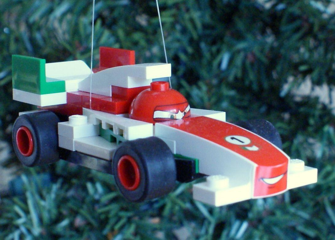 Lego christmas ornament cars francesco of the proceeds