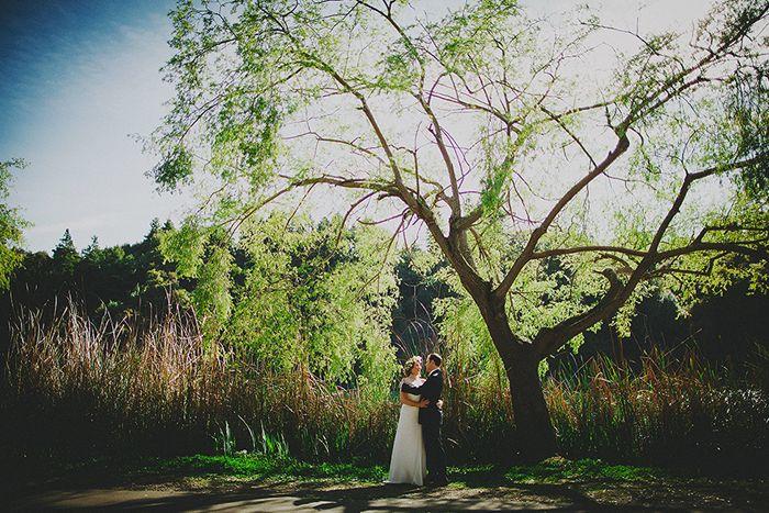 Kelsey + Karl's Temescal Beach House Wedding Sneak Peek!  www.milouandolin.com/blog #photography #wedding #garden #romantic
