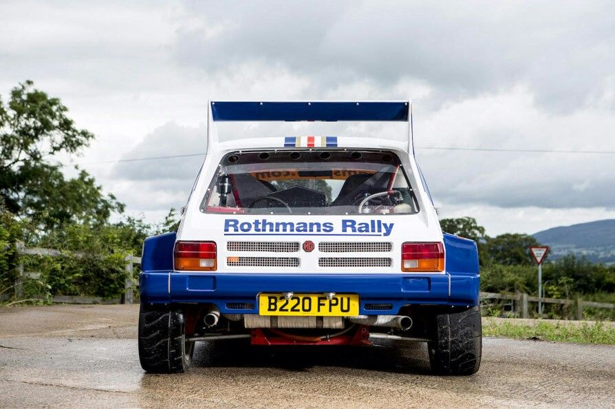 For Sale: 1985 MG Metro 6R4 Group B Rally Car While the thought of ...