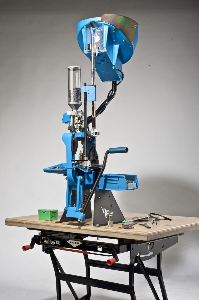 Dillion Precision XL650 on a B&D Workmate | Reloading Rooms