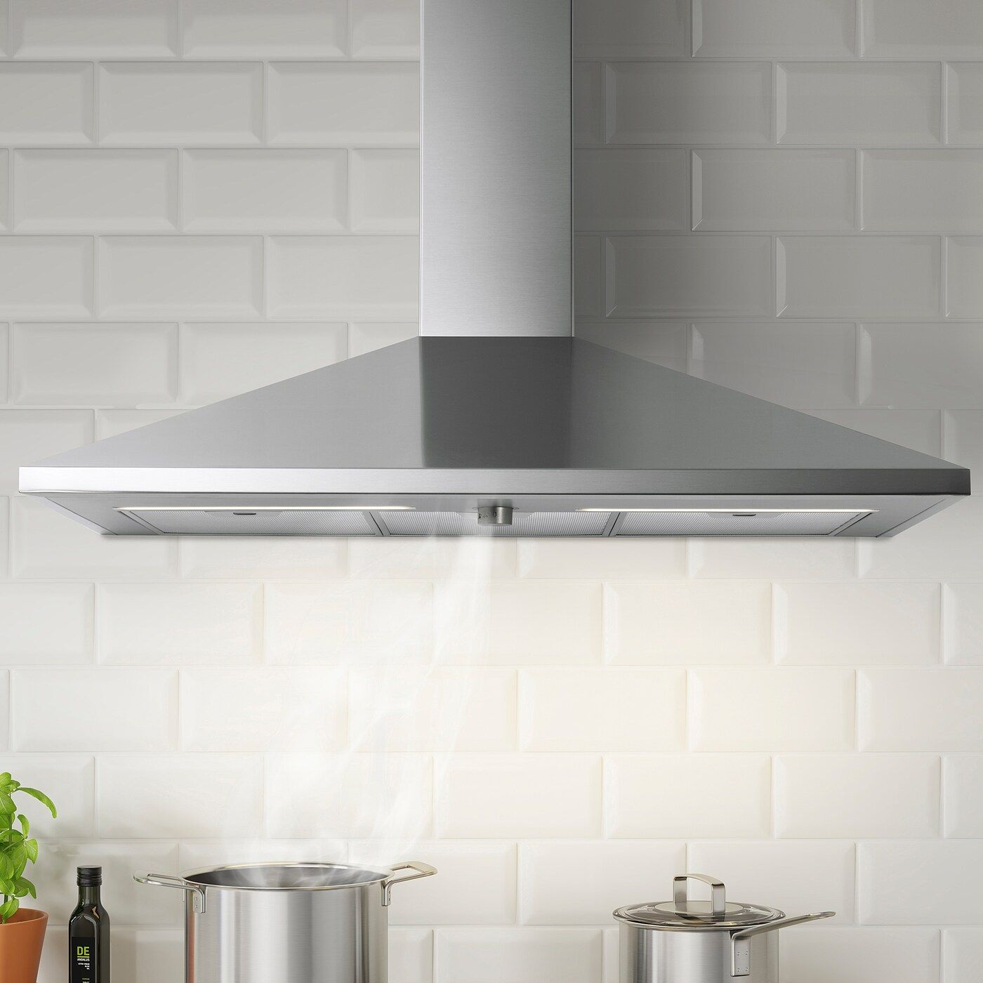 Ikea Rytmisk Extractor Hood For Wall Mounting Stainless Steel Classic Extractor Hood With All Basic Functio In 2020 Dunstabzugshaube Led Leuchtmittel Ikea Savedal