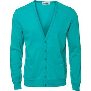 Cardigan.. Like the color.
