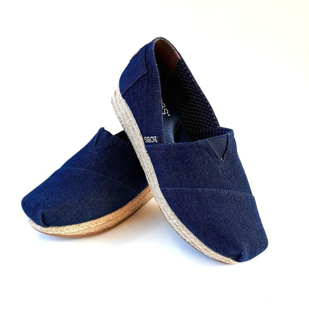 Memory Foam Blue Wedge Shoes Womens