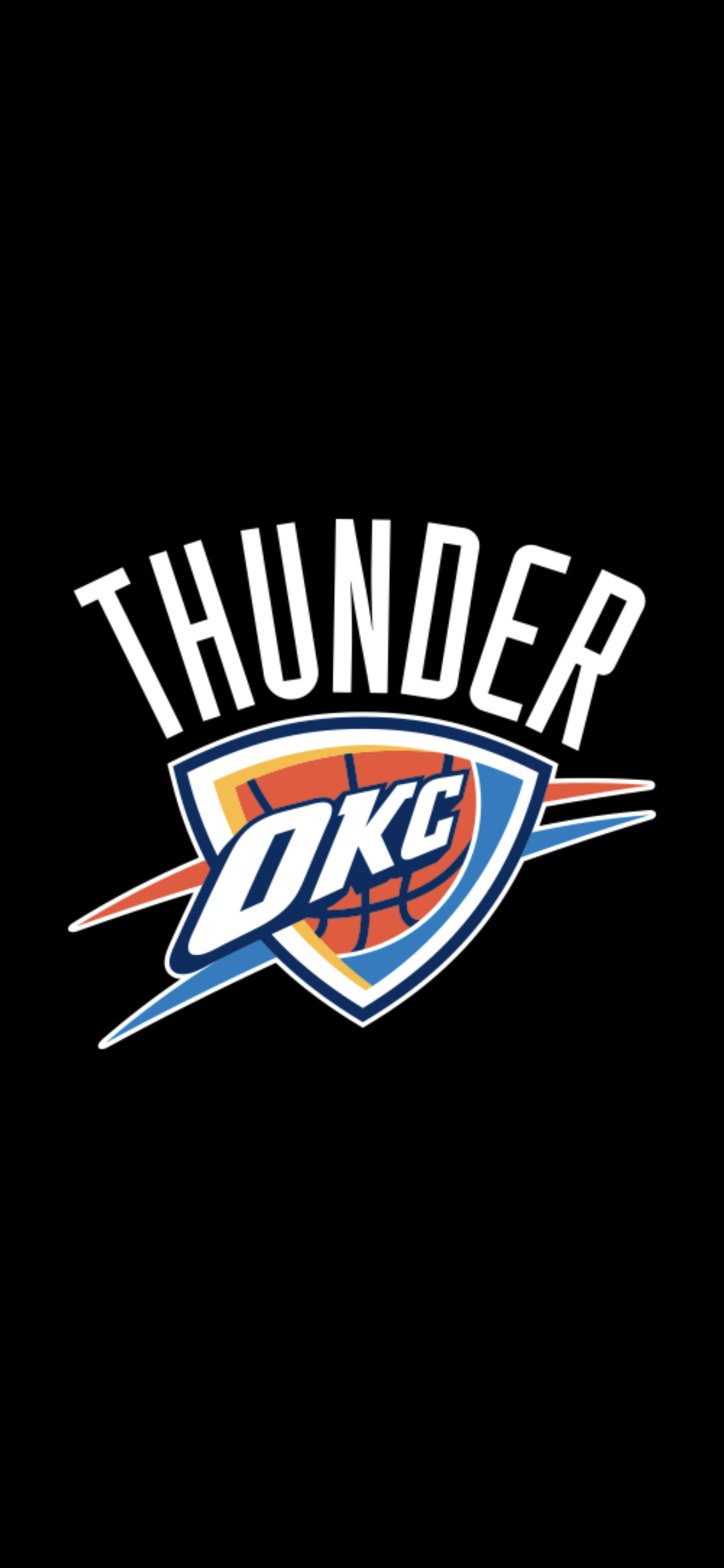 Okc Thunder Wallpaper Iphone Background Oklahoma City Okc Thunder Thunder Oklahoma City Thunder