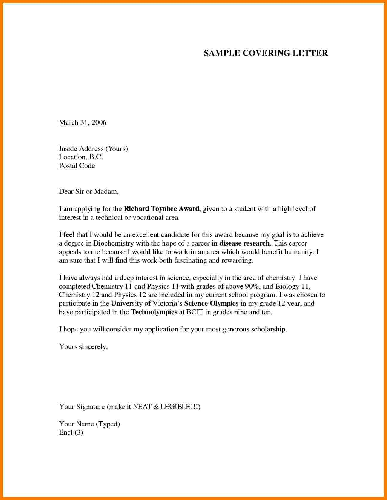 Cover Letter Template Teenager  cover coverlettertemplate letter teenager template  1