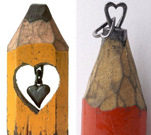 Pencil graphite carvings by dalton ghetti art