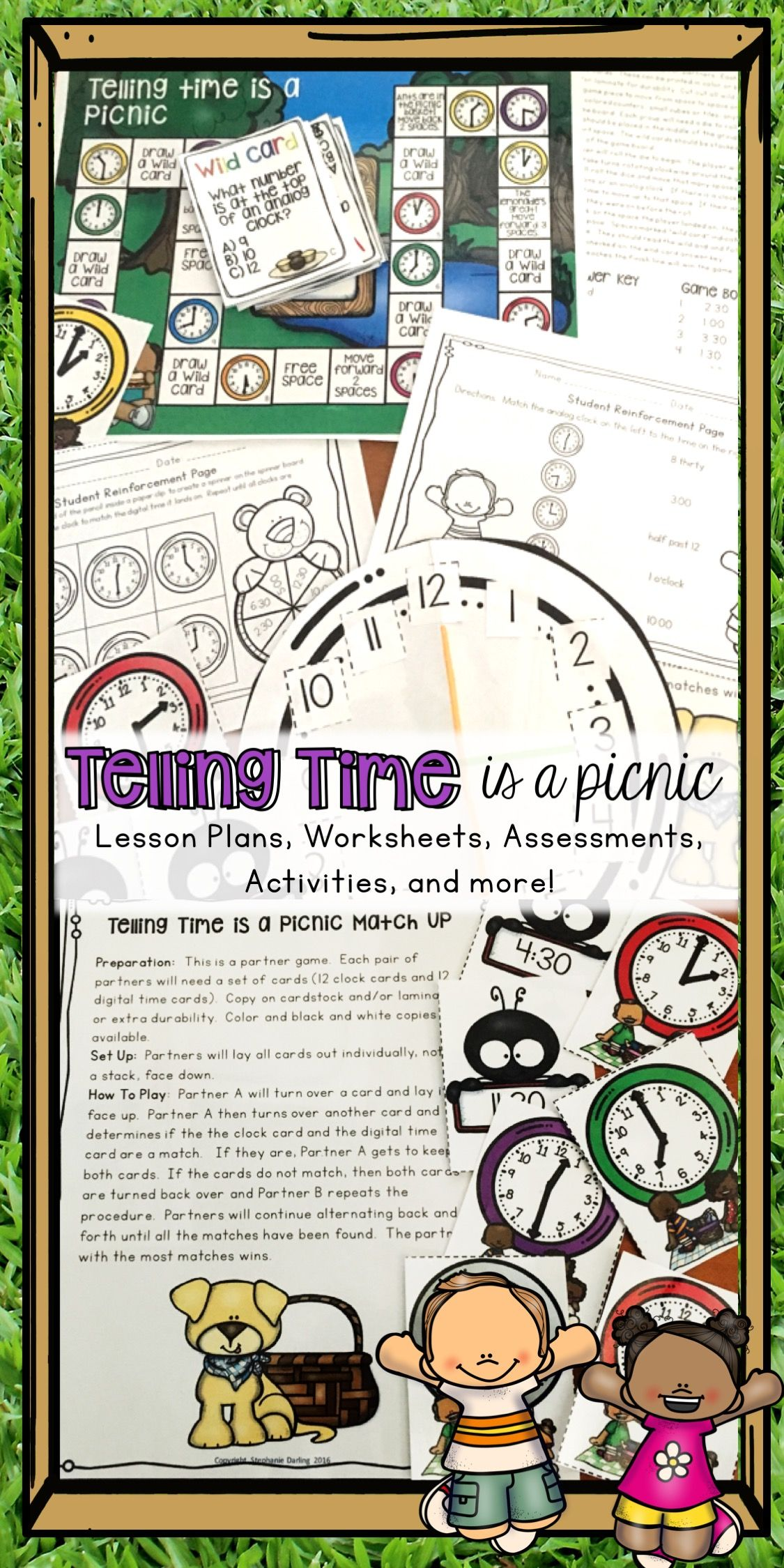 Telling Time Worksheets Games Lesson Plans Activities