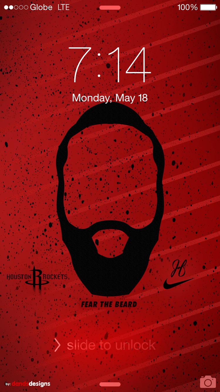 Fear The Beard James Harden James Harden Cool Basketball