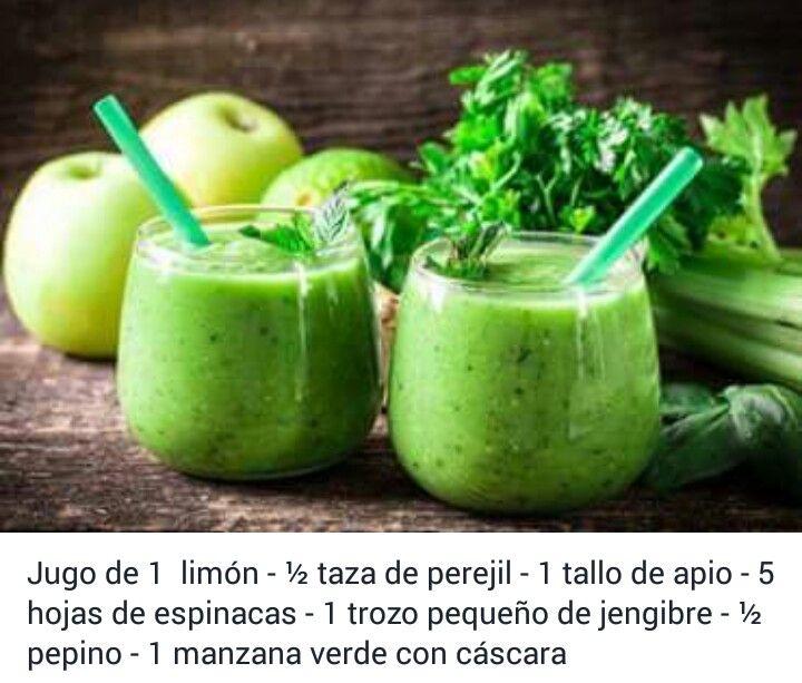Jugo de pepino limon y jengibre para adelgazar