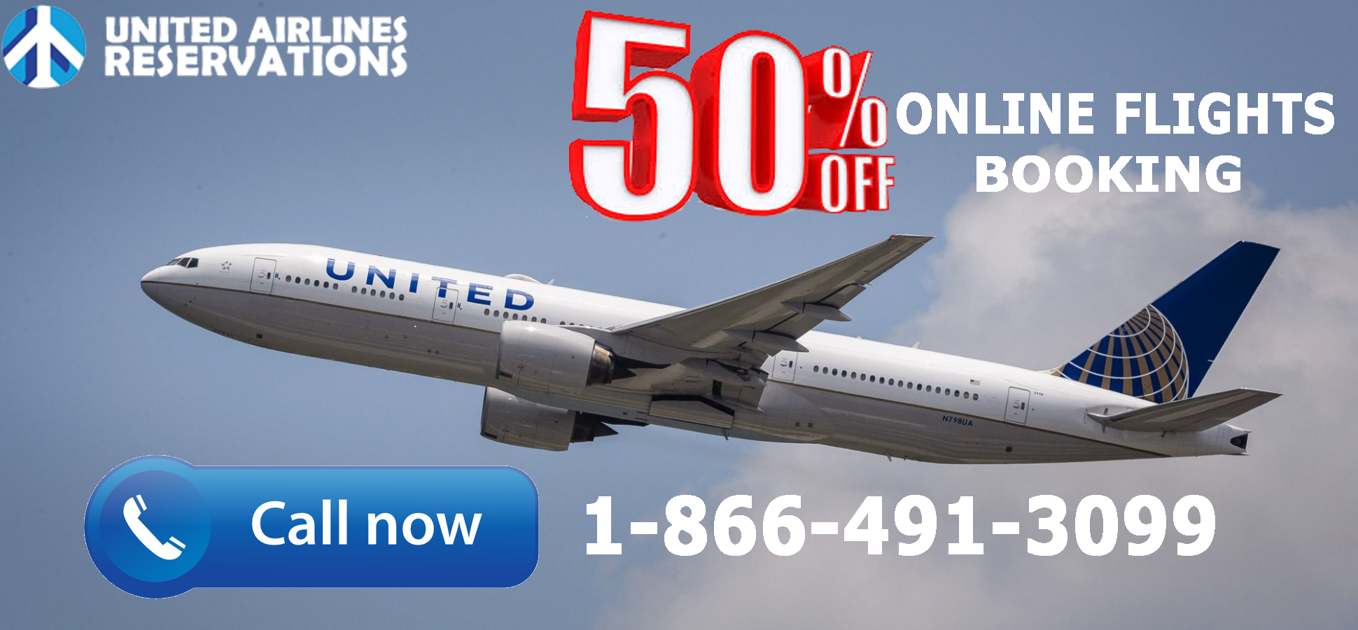 United airlines reservations are there for you. Try out