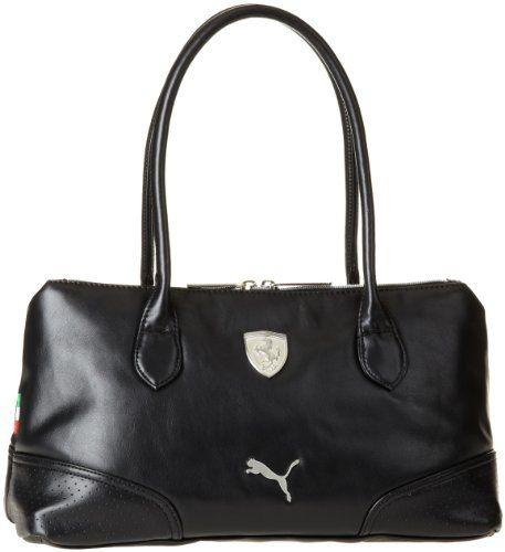 07ab7530e195f PUMA Women's Ferrari Long Sleeve Handbag | puma | Black handbags ...