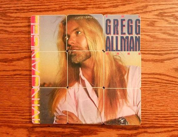 Reclaimed The Gregg Allman Band I M No Angel Record Album 10 Piece Coaster Set With Images Greggs Record Album What Is An Artist