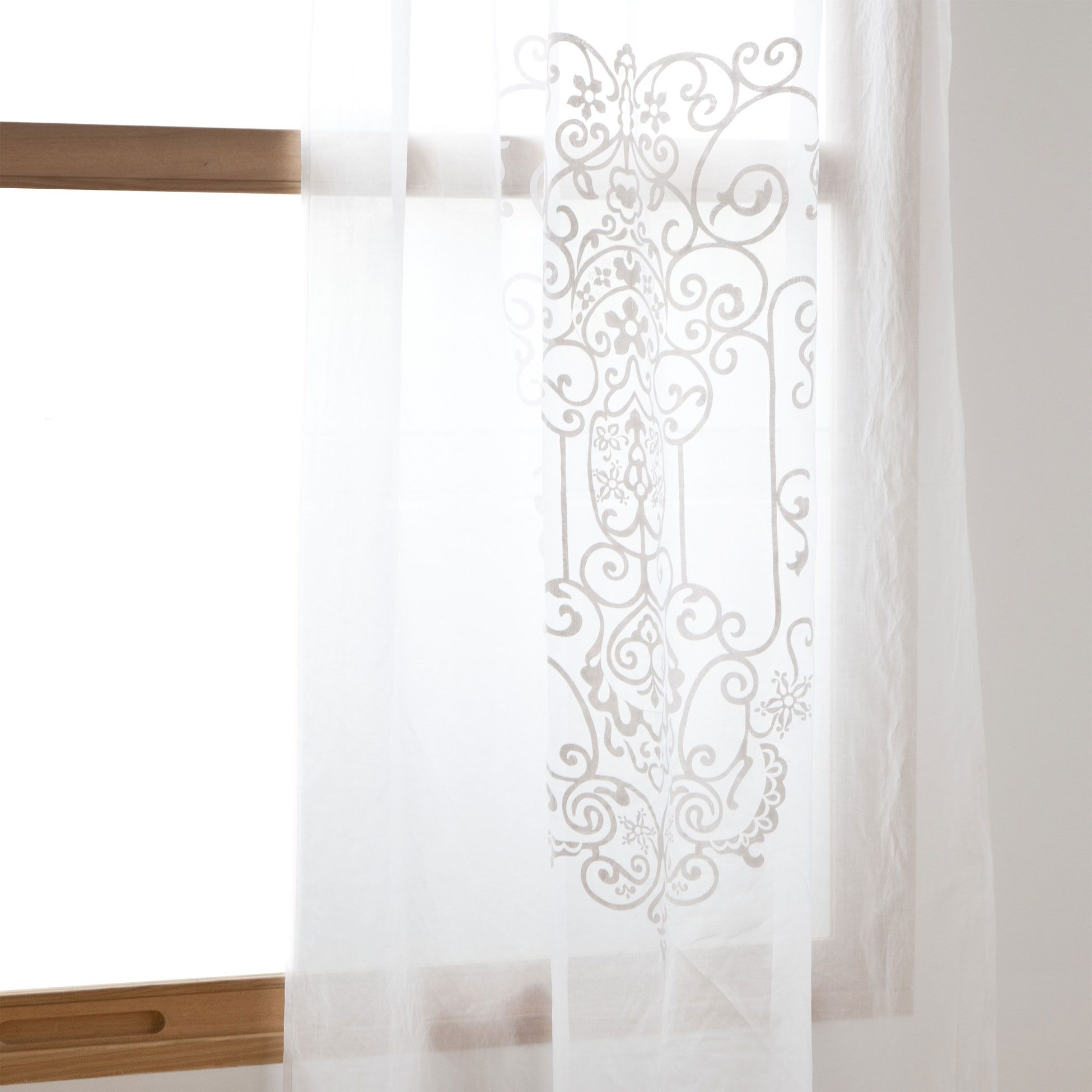 Awesome BRANCHES COTTON CURTAIN   Curtains   Bedroom | Zara Home United Kingdom