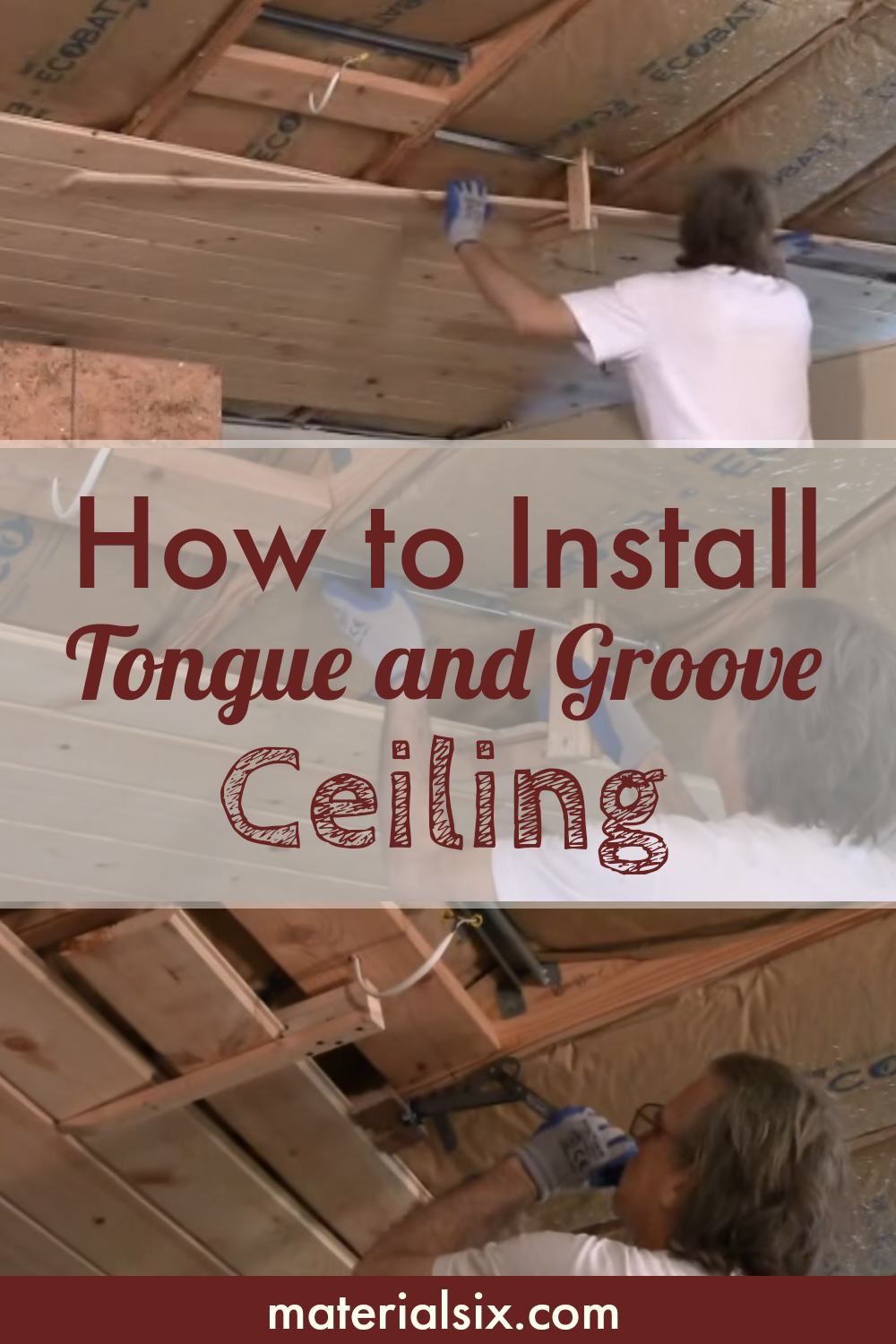 How To Install Tongue And Groove Ceiling Materialsix Com Tongue And Groove Ceiling Tongue And Groove Groove