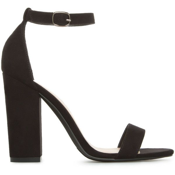 ShoeDazzle Sandals-Dressy - Single Sole Neri Womens Black ❤ liked on Polyvore featuring shoes, sandals, black, sandals-dressy - single sole, black dressy shoes, black shoes, black strap sandals, fancy sandals and dressy sandals