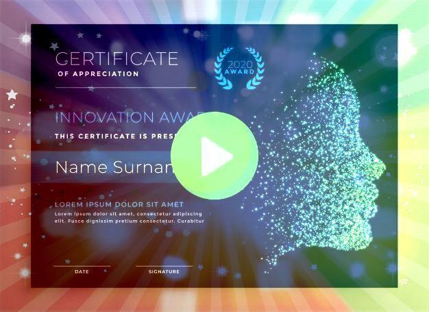 de certificado de premio de innov  Premium VectorDiseño de certificado de premio de innov  Premium Vector Formal certificate of appreciation printable template Red...