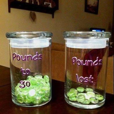 check out this great idea for keeping track of your weight loss