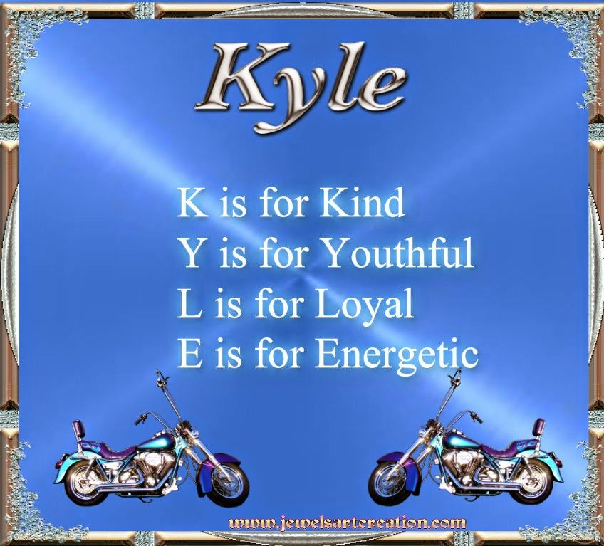 Tony Greenstein Blog: Kyle Name Meaning Poem