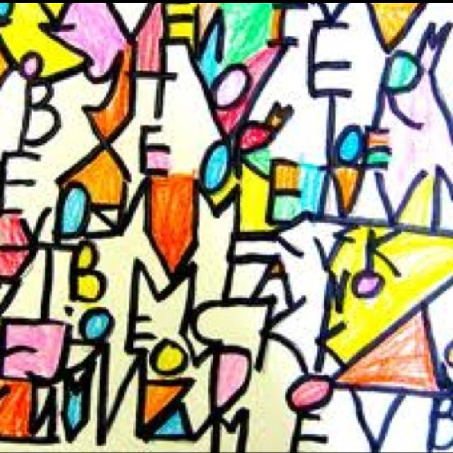 Love this Paul Klee inspired project, did it with 1st graders & got awesome variations!