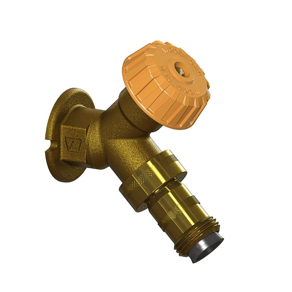 x FPT Mild Climate Brass Wall Hydrant