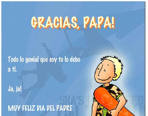 Spanish Father S Day Cards To Celebrate D 237 A Del Padre
