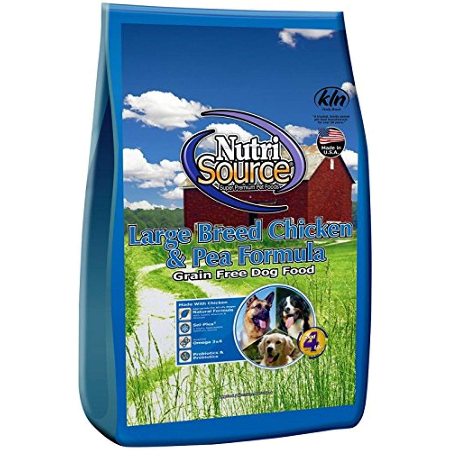 Nutri Source Grain Free Large Breed Chicken Dogs Dry Dog
