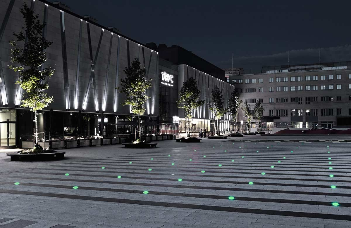 Landscape Lighting On Roof : Roof park plaza playground polyform arkitekter
