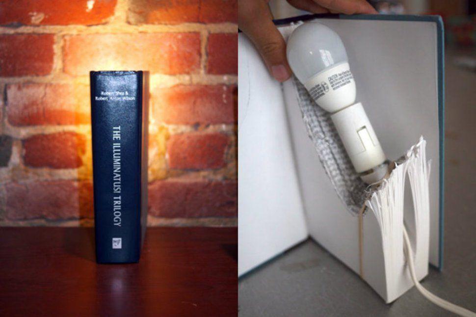 lamparas caseras 3 luz! Pinterest Casero, Reciclaje y Luces - Lamparas Caseras
