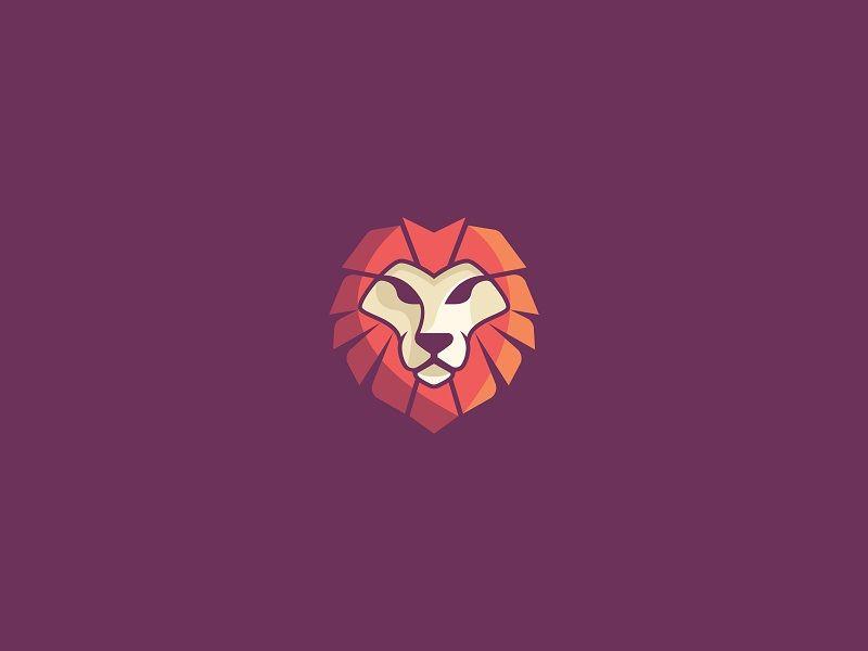Lion.  Unused design.