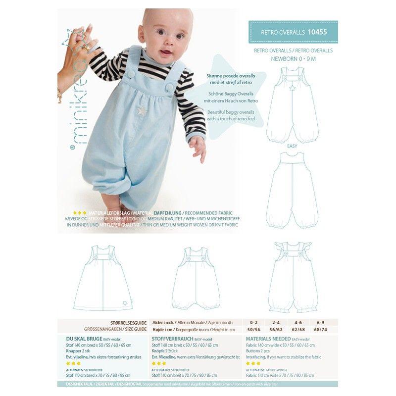 Minikrea Retro Overalls | Tøj, Smækbukser, Børnetøj