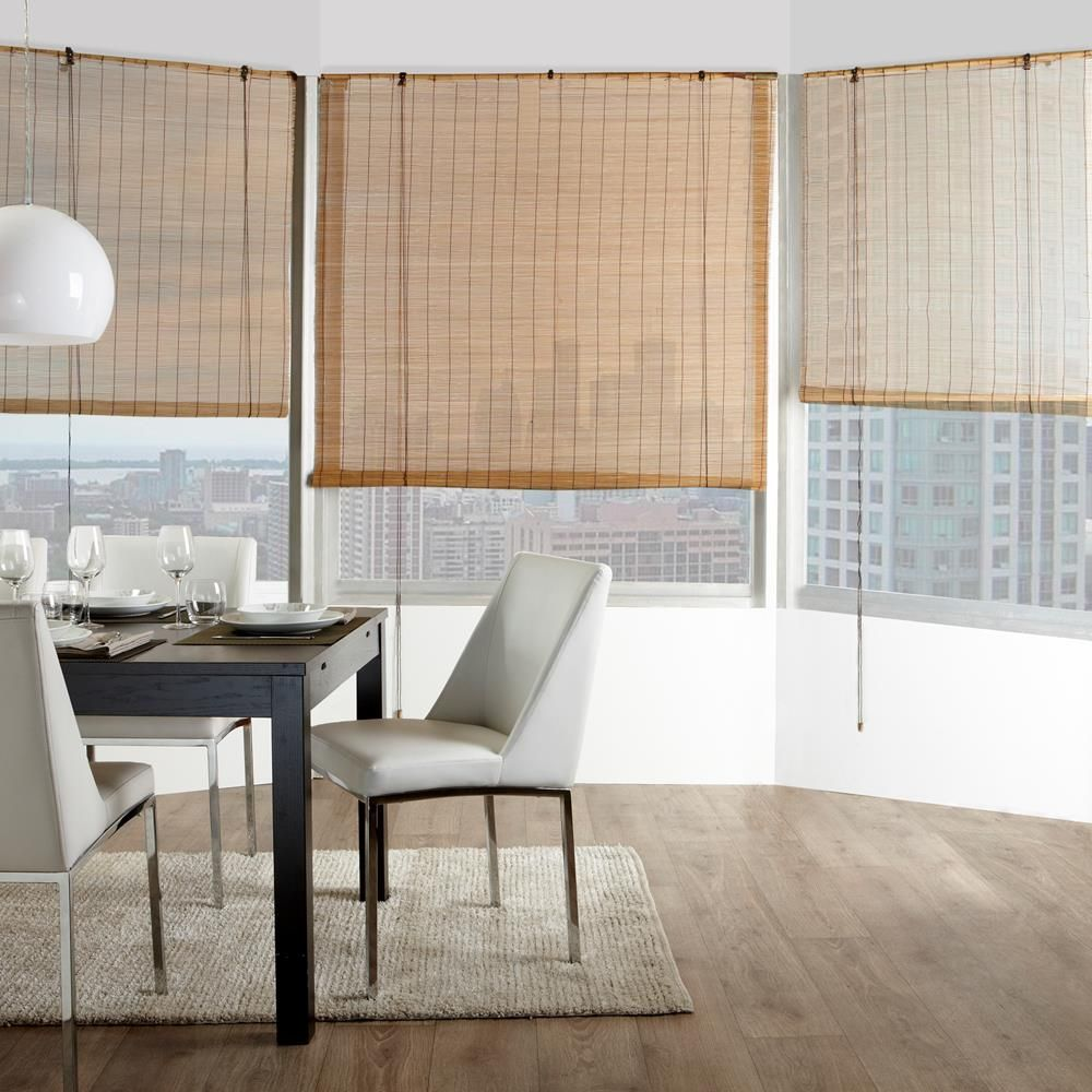 Bamboo Roll Up Blind Living Room Blinds Vertical Blinds Diy Curtains With Blinds