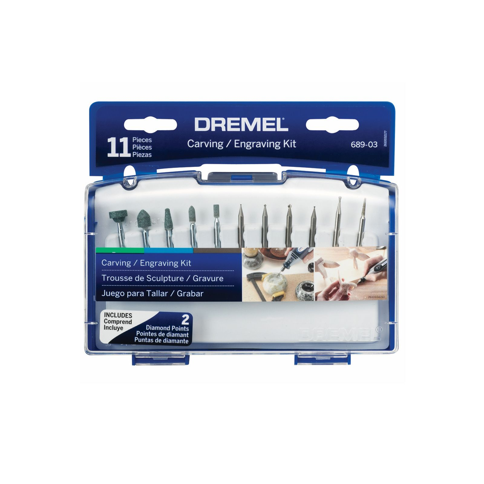 Dremel 689 11pc Carving Engraving Kit Bunnings Warehouse Mesin Gergaji Scroll Saw Moto Ms20 01