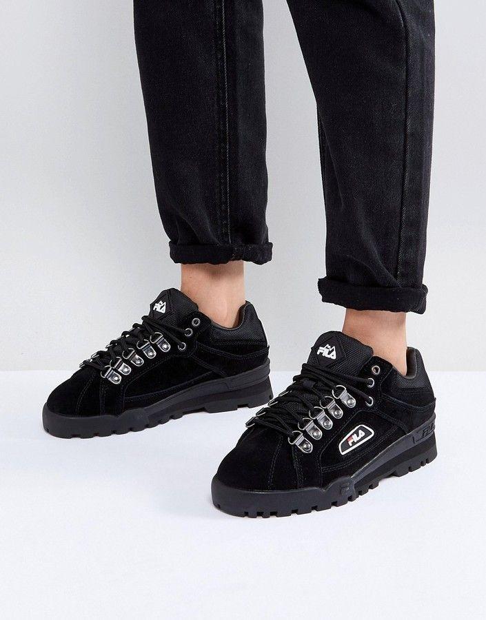 aece7cd59ba8 Fila Trailblazer Sneaker In Black