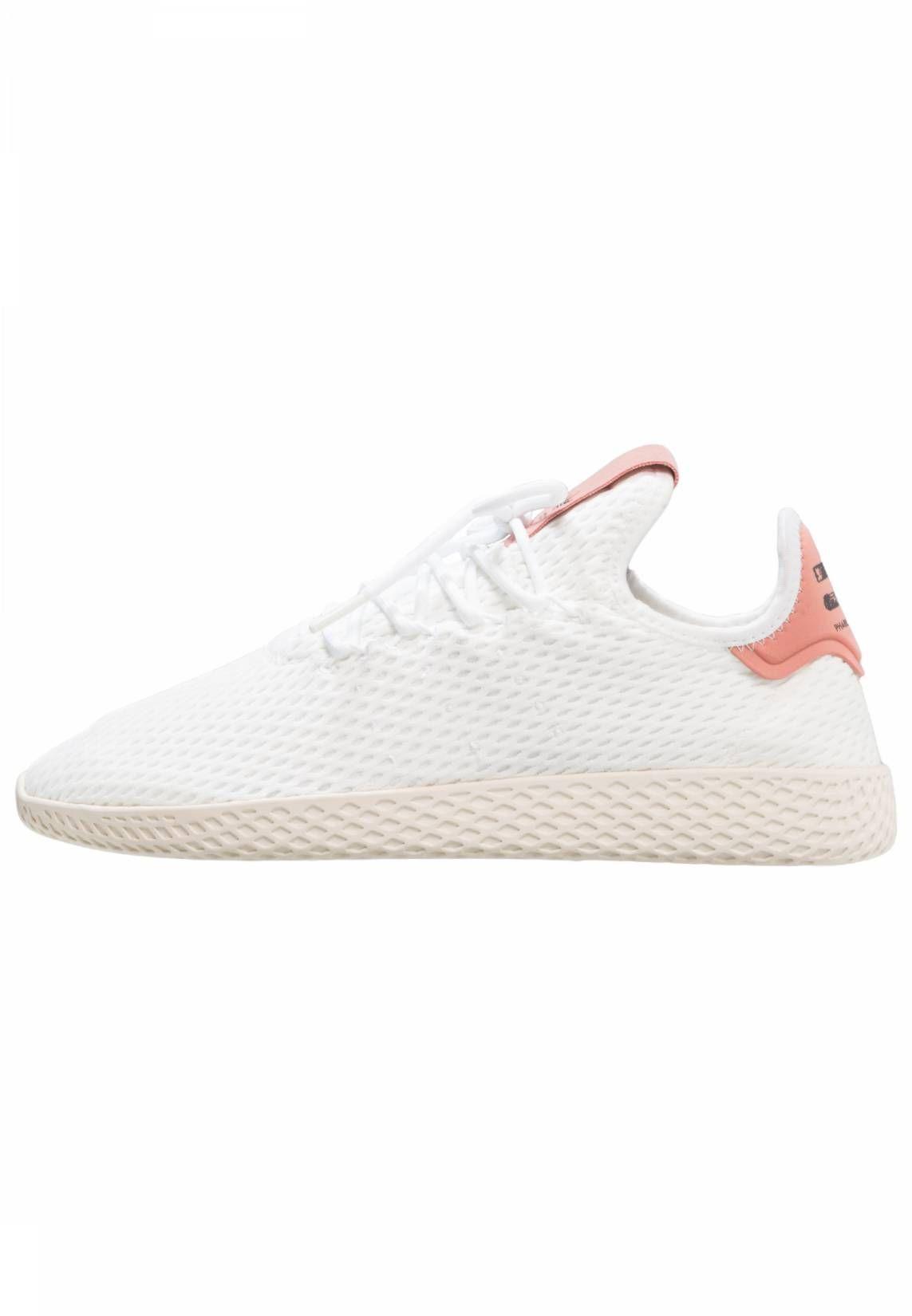 Adidas Originals Pw Tennis Hu Sneaker Low White Raw Pink Sohle Kunststoff Decksohle Textil Innenmaterial Textil Oberm Adidas Originals Sneaker Zalando