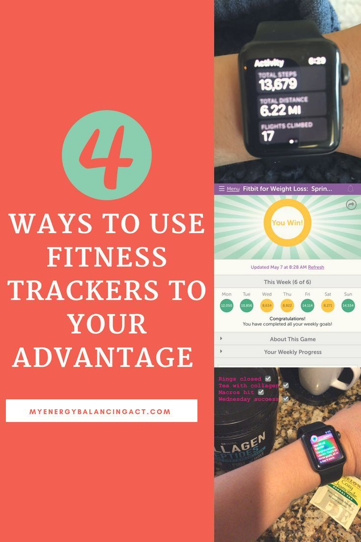 4 Ways to Use Your Fitness Tracker for the BEST Weight-Loss Results