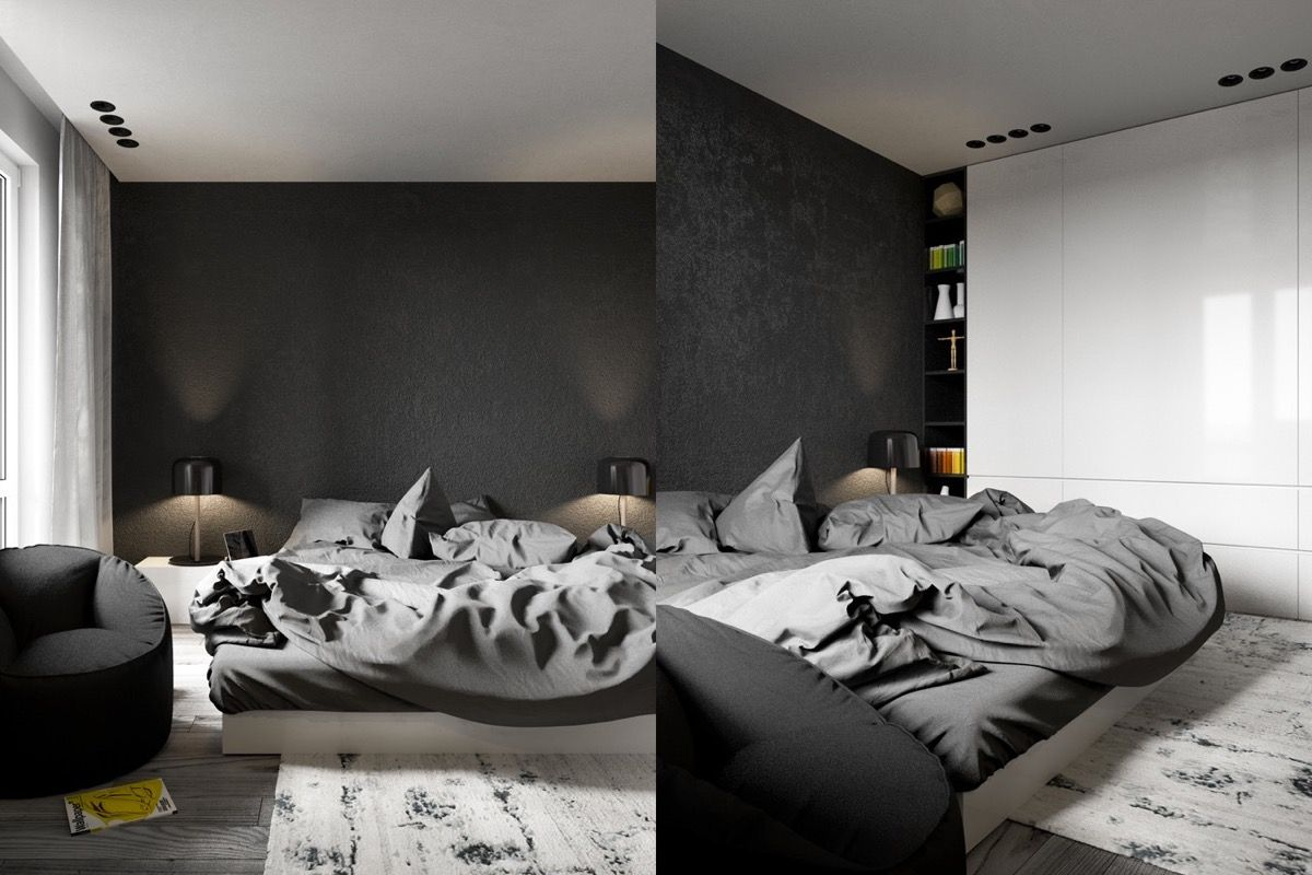 These Dark Bedrooms Will Put You In A Dream Like State   Dreamy ...