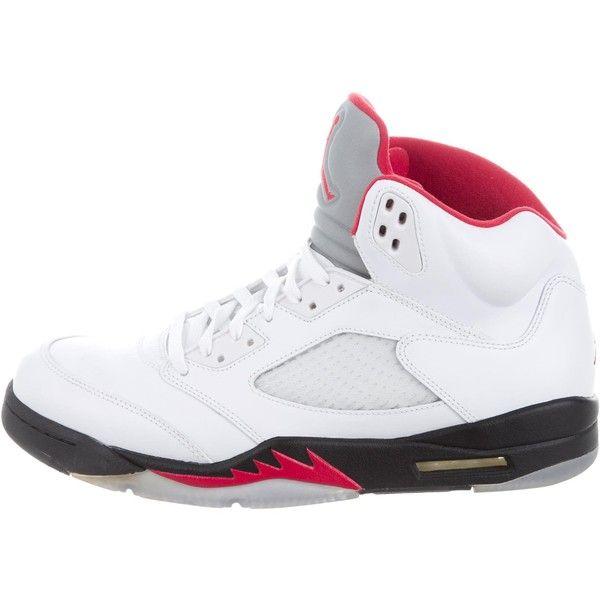 0c5cf0cc808581 Pre-owned Nike Air Jordan 5 Retro Sneakers ( 295) ❤ liked on Polyvore