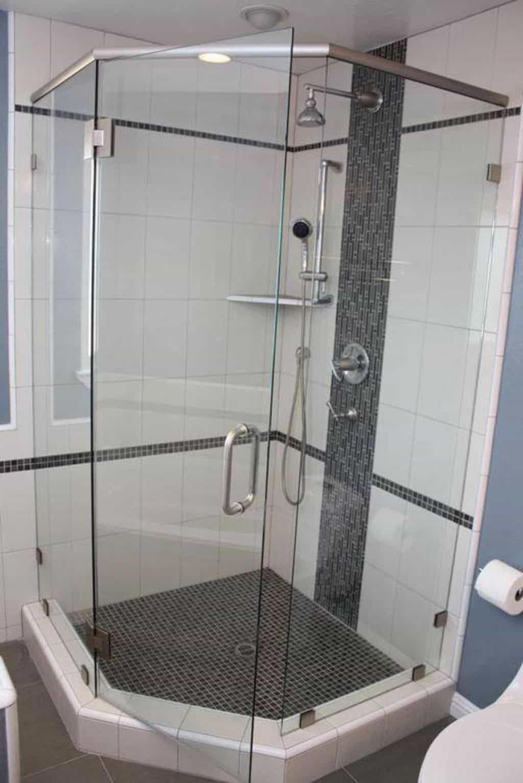 Bathroom Neo Angle Shower Stall Bathroomshowernew Neo Angle