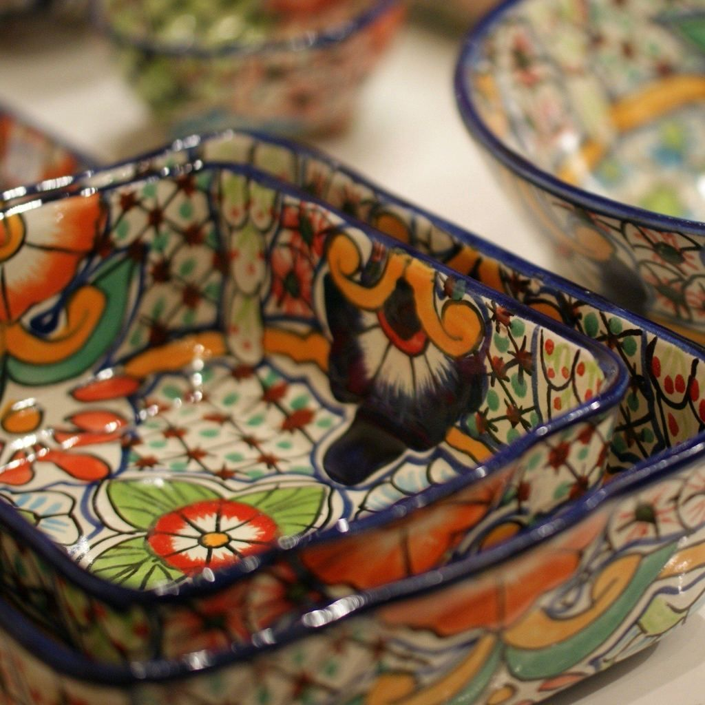 Need A Mexican Talavera Baking Dish That Can Go From The