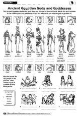 egyptian gods printables | History: Ancient Egyptian gods and ...