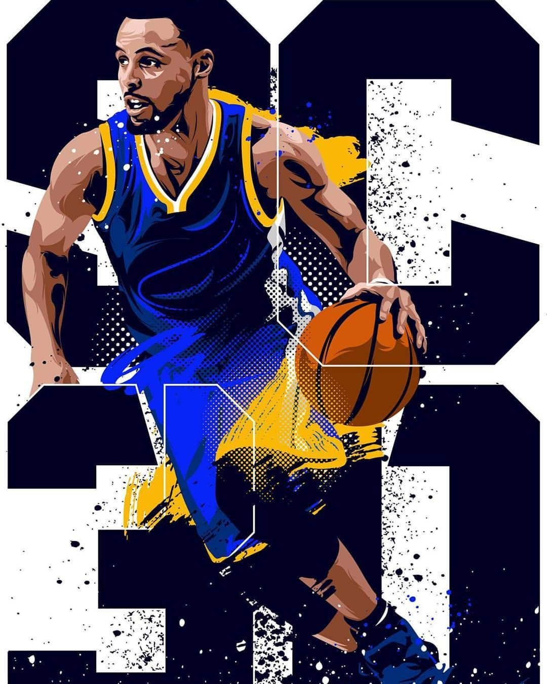 """a42825c8a32 Pabo 86 on Instagram  """" stephencurry30  ayeshacurry  hypestudioph   hypestudioph  hypestudioph  stephcurry  chef  curry  sc30  nba   illustration ..."""
