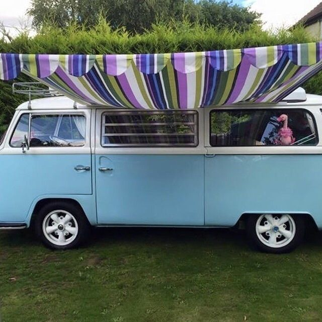 Handmade Awning For A VW Camper Van.