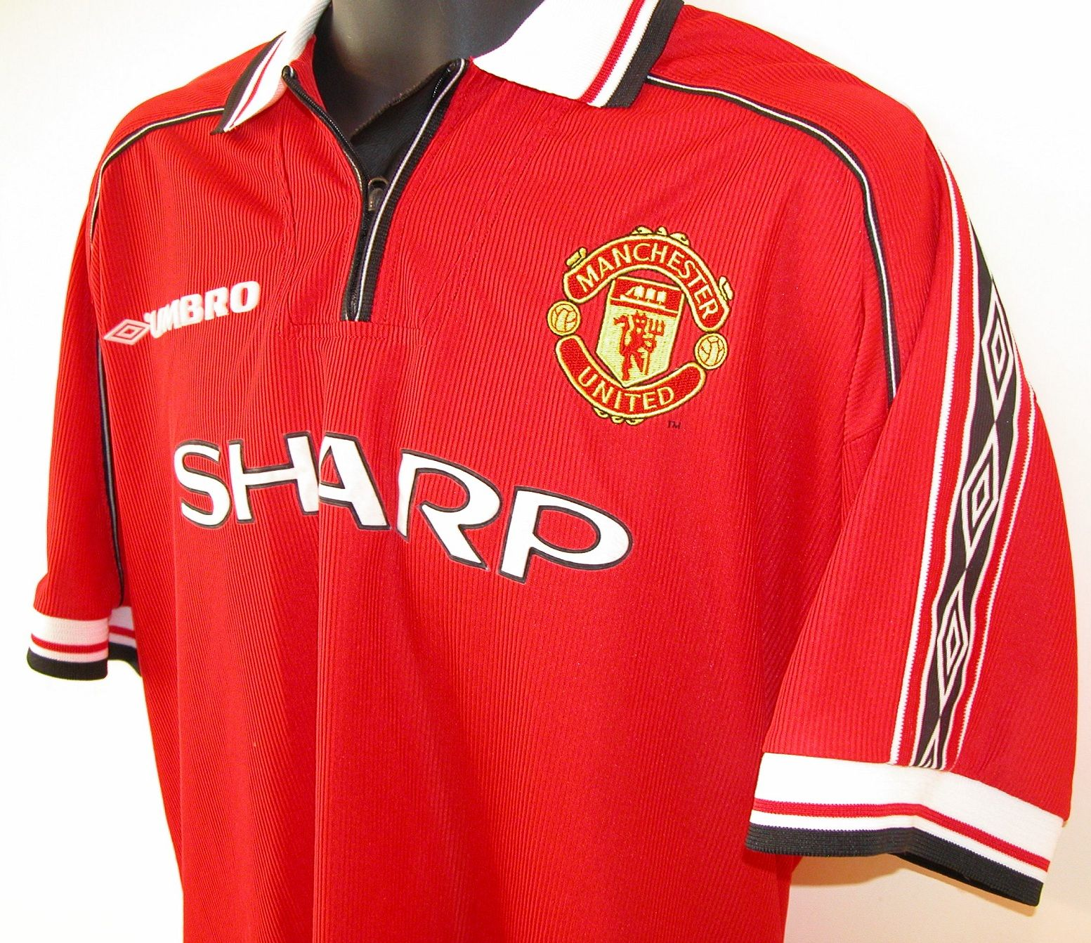 942e497804a 1999 Manchester United  Treble  shirt by Umbro