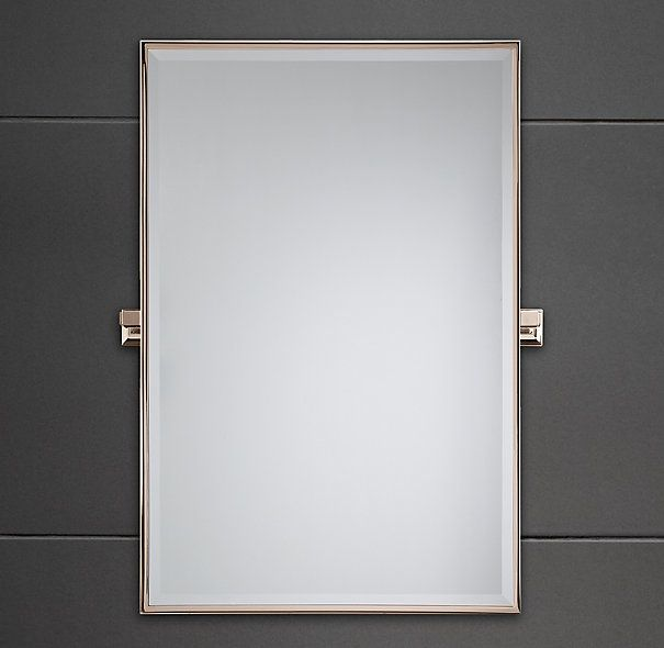 RH Dillon Traditional Pivot Mirror Is A Modern Classic With Clean Lines And Thoughtful Detailing