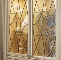 Art glass cabinet door inserts | kitchen glass cabinets ...