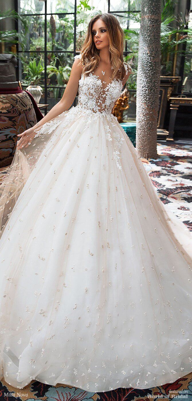 Milla Nova Hochzeitskleid 16  Hochzeitskleid, Brautkleid