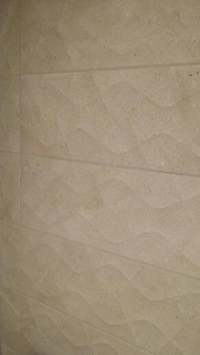 Grey textured tile perfect for feature walls in bathrooms