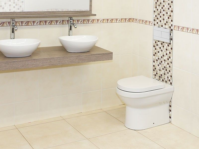 White Atlantis Concealed Cistern Toilet Set Ctm Toilet Suites Toilet Concealed Cistern